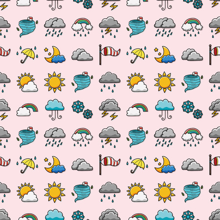windy day: Weather icons set,eps10