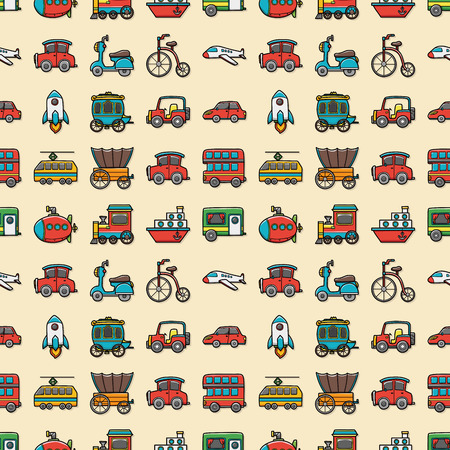 transportation icons: Transportation icons set,eps10 Illustration