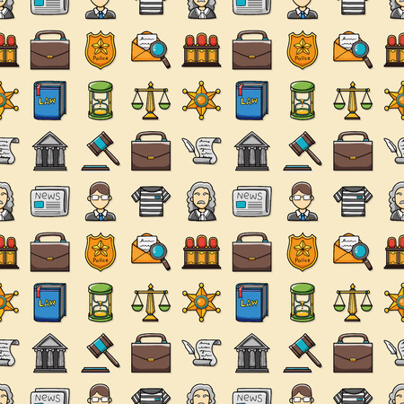 prison house: Law and justice icons set,eps10