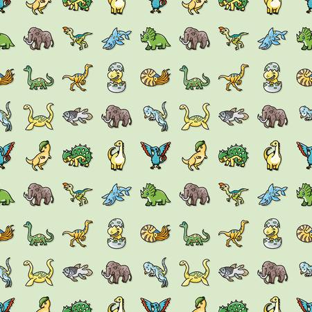 dinosaurus: Dinosaurs icons set,eps10