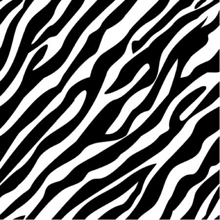 Zebra pattern seamless Vectores