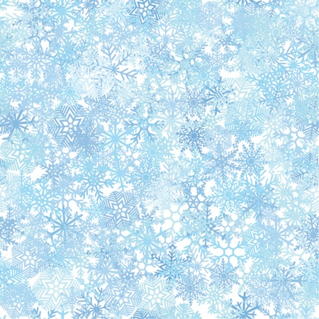 ice crystal: Seamless blue ice crystal pattern