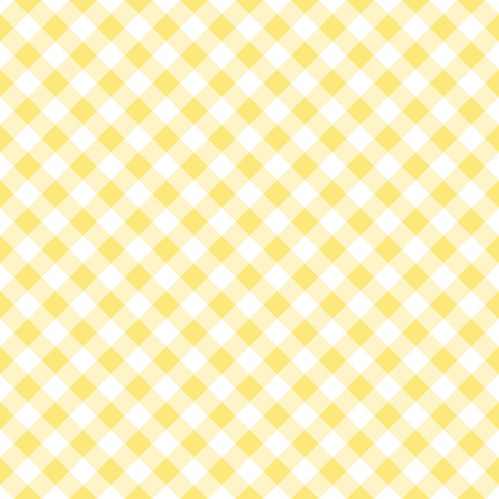 gingham: Seamless yellow gingham pattern