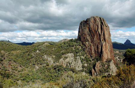 Warrabungle National Park in Australia