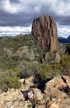 Warrumbungle National Park in NSW, Australia