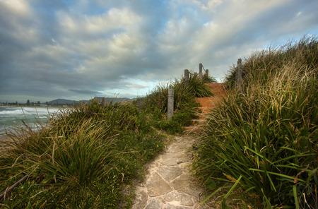 a beachside view in Bulli, Wollongong