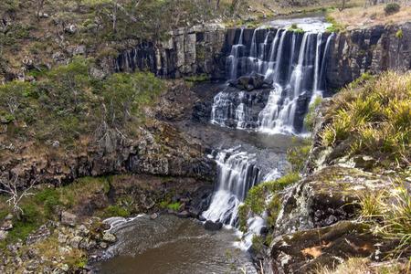 View of Ebor Falls, NSW, Australia
