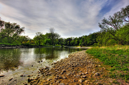 a view of Bayfield River, Ontario, Canada