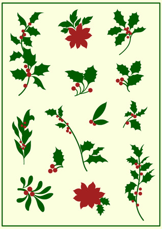 raminho: holly(christmas)