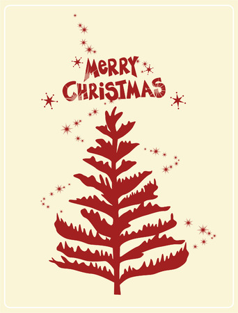 merry christmas Stock Vector - 3901804