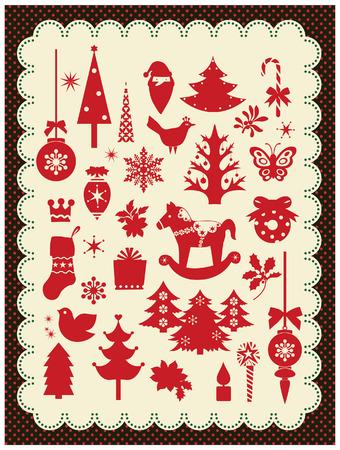 christmas elements: christmas elements