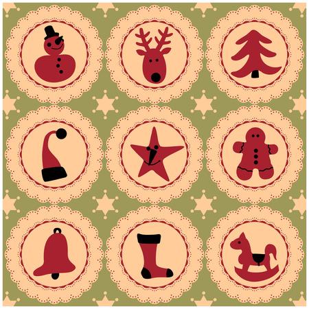 merry christmas Stock Vector - 3954741
