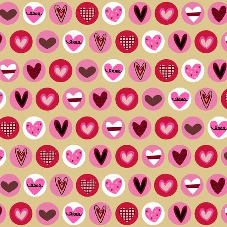 clumsy: corazones de fondo