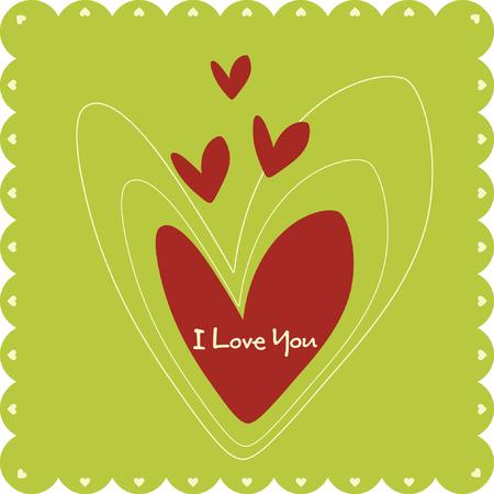 maldestro: Valentin `s giorni carta Vettoriali