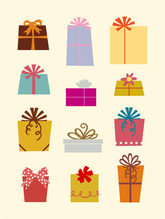 gift boxes Stock Vector - 4218900