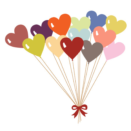 valentines day(balloon) Vector