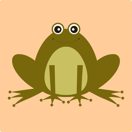 vector frog Stock Vector - 4333621