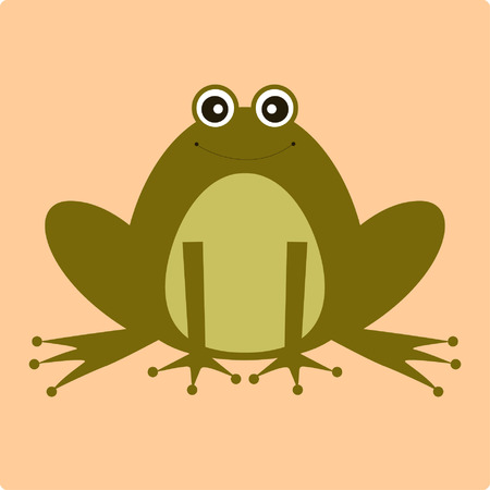 vector frog Illustration
