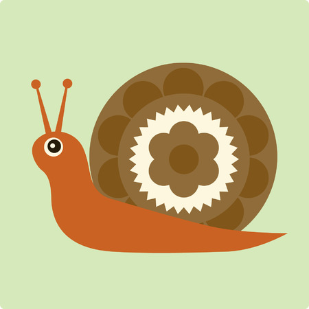 vector snail Stock Vector - 4333645