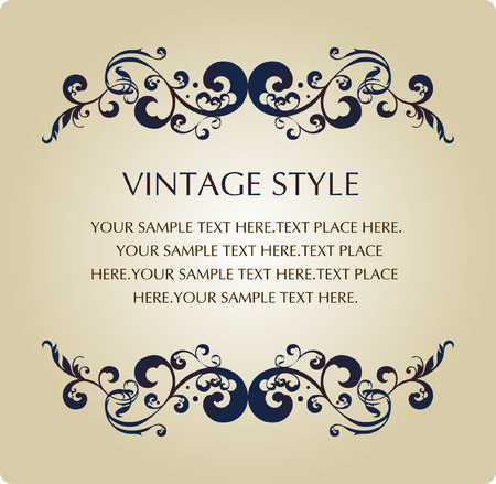 vintage style Stock Vector - 4380908