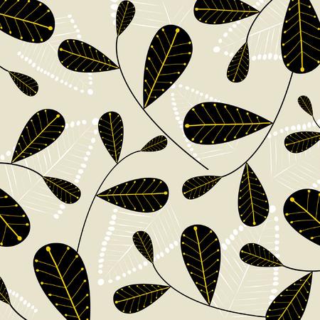 vector leaf background Vector