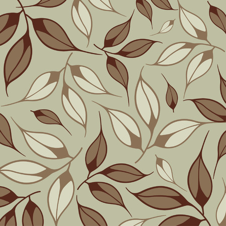 vector leaf background Stock Vector - 4467922