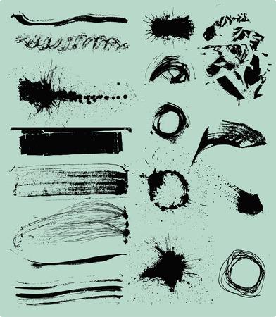 blemish: Ink splash background