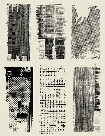 Salpicaduras de tinta de fondo Ilustración de vector