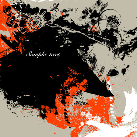 ink splash: Ink splash background