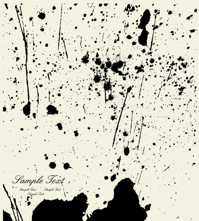 scratchsilhouette: Ink splash backgroun Illustration