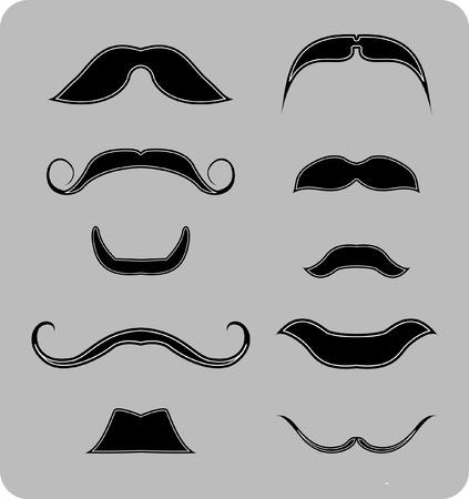 disfrazados: Barba Vectores