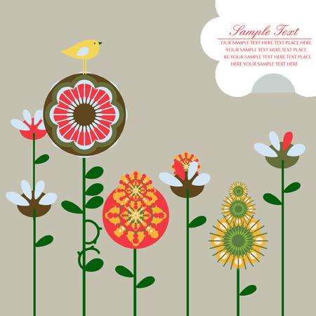 flower Stock Vector - 4847242