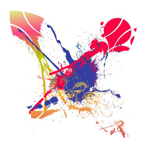 scratchsilhouette: background Illustration