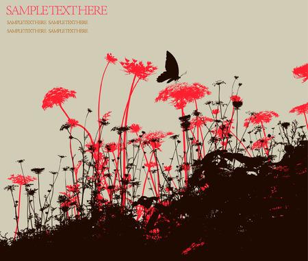 grass vector: background Illustration