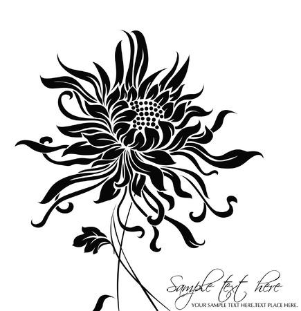 Fondo de flores vectoriales Foto de archivo - 5483557