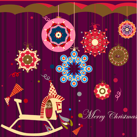 flowercelebrating: xmas Illustration