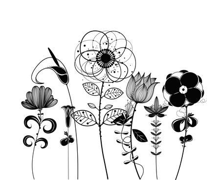 flower background Stock Vector - 6647049