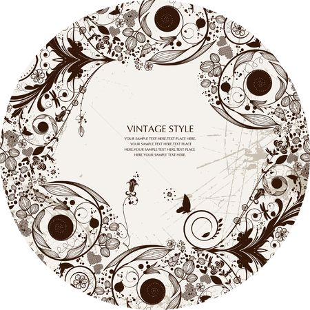 creative freedom: vector flower background