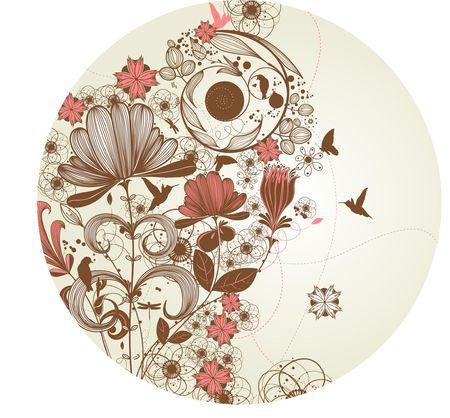 flower clip art: flower