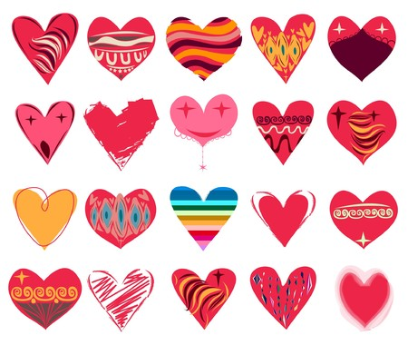 collections: heart
