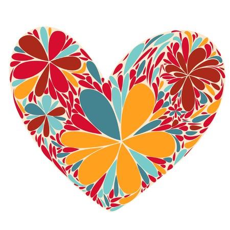 purple hearts: heart