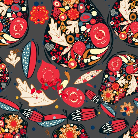Retro Floral (Seamless Pattern)  Stock Vector - 7269650