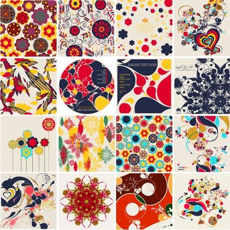 rattan: abstract background Illustration