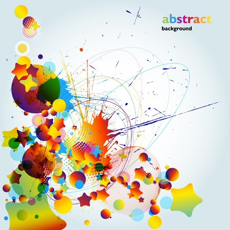 Abstract colorful background. Stock Vector - 7668085