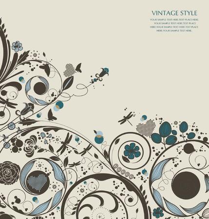 vintagern: flower