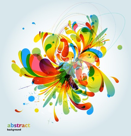 vivid colors: Abstract Background