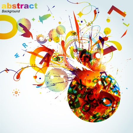 Abstract colorful background. Stock Vector - 7668113