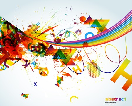 Abstract colorful background. Stock Vector - 7668110