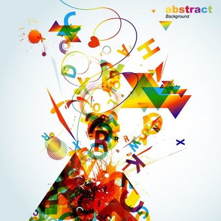 Abstract colorful background. Stock Vector - 7668105