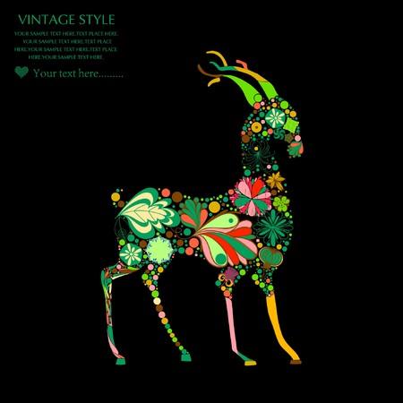 vintagern: deer